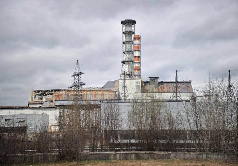 Chernobyl nuclear power station fourth power 25 years later